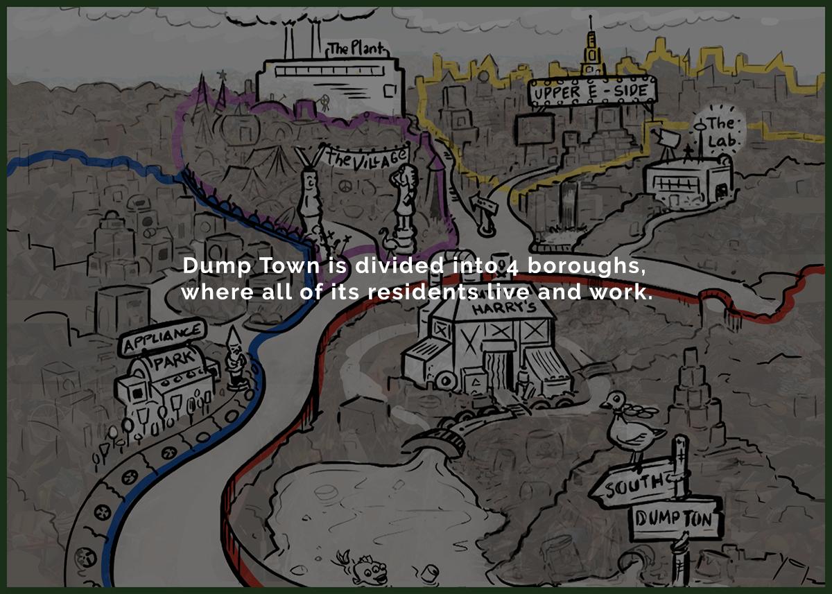 Dump Town Map